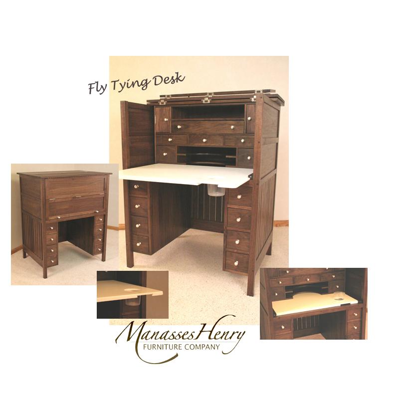 Fly Tying Desk
